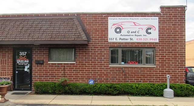 Q&C Automotive Repair shop in Wood Dale, IL